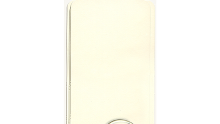 Large Tag Album, Ivory