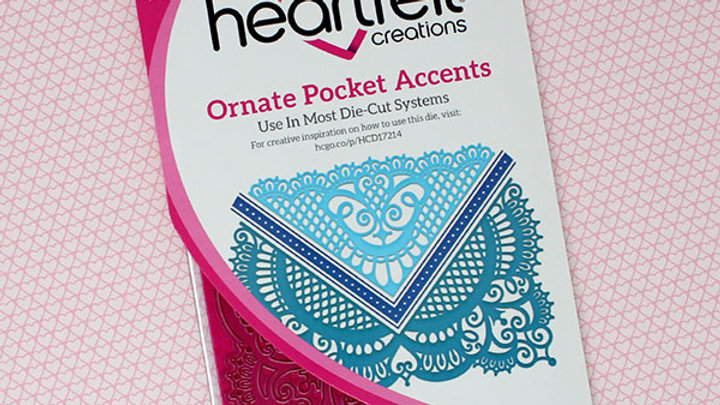 Ornate Pocket Accents Die