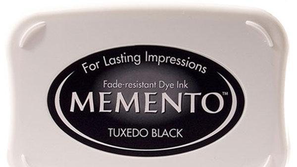 Tuxedo Black Ink pad Memento full size inkpad: 3.75 x 2.625 inches (96 x 67 mm)