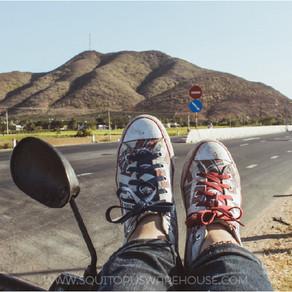 Phượt xe máy một mình, nên hay không?