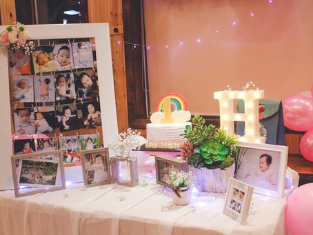 Bảo Hân's 1st birthday