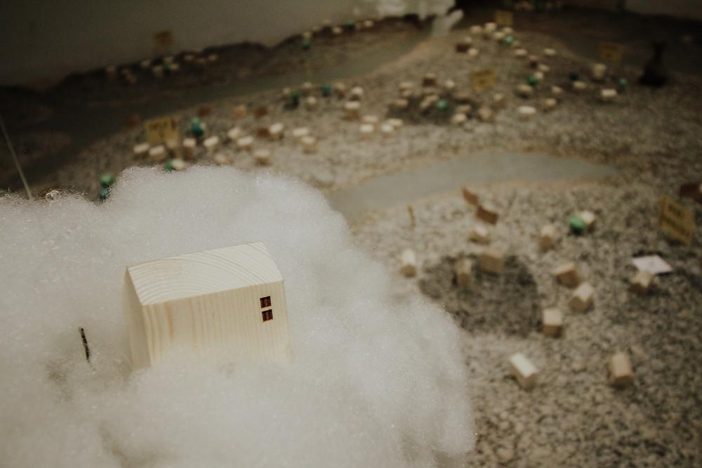 wooden miniature house mô hình nhà gỗ mini