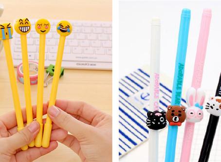 AKTION: Individuelle Gel-Pens in diversen Farben & Formen