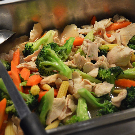 Chicken Mixed Vegetable