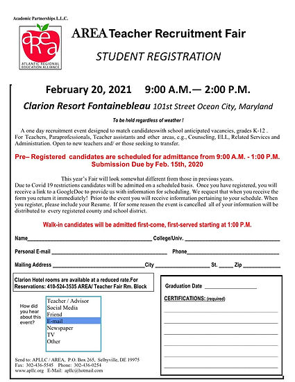 Ocean City Student Registration 2021-Cop