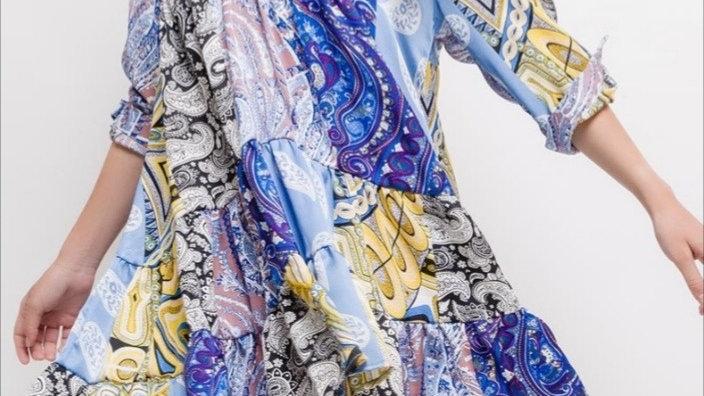Robe Tunique Bleu