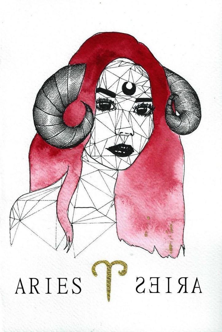 La femme BELIER en Rouge