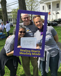 Some of our board members at the Fairfield County Walk for Mental Health May 5th, 2018