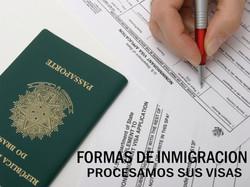 Formas de Inmigracion