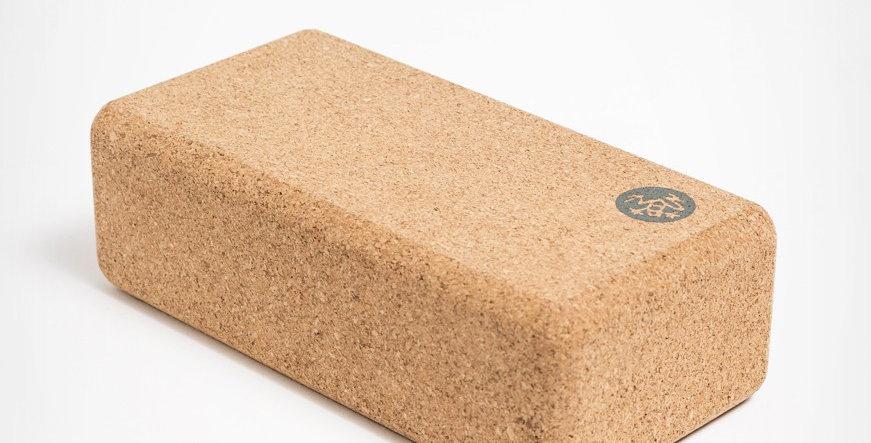 Manduka Block lean cork