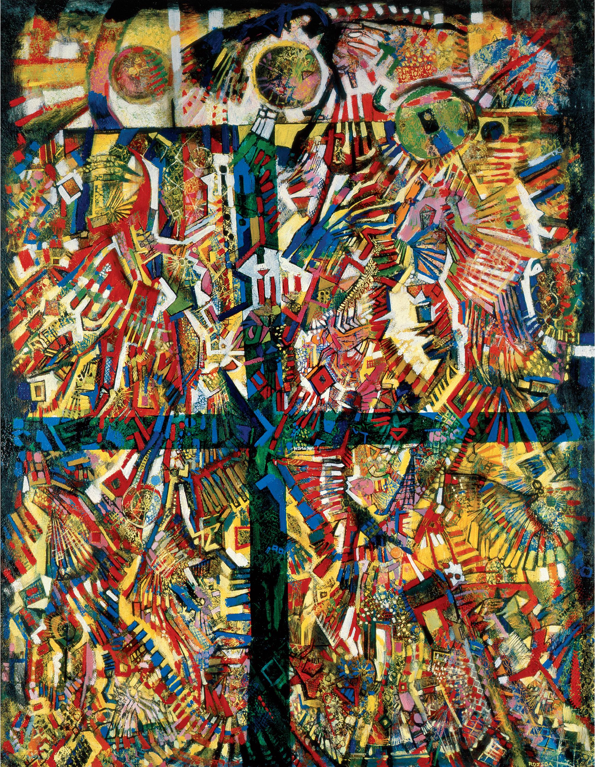 Endre Rozsda - Symbole hermétique (1974)