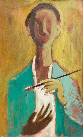 Endre Rozsda - Autoportrait (cca 1938).J