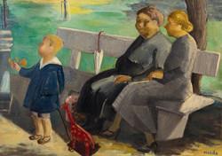Endre Rozsda - Les gouvernantes (cca 1935)