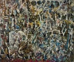 Endre Rozsda - Ville en cristallisation (1965)