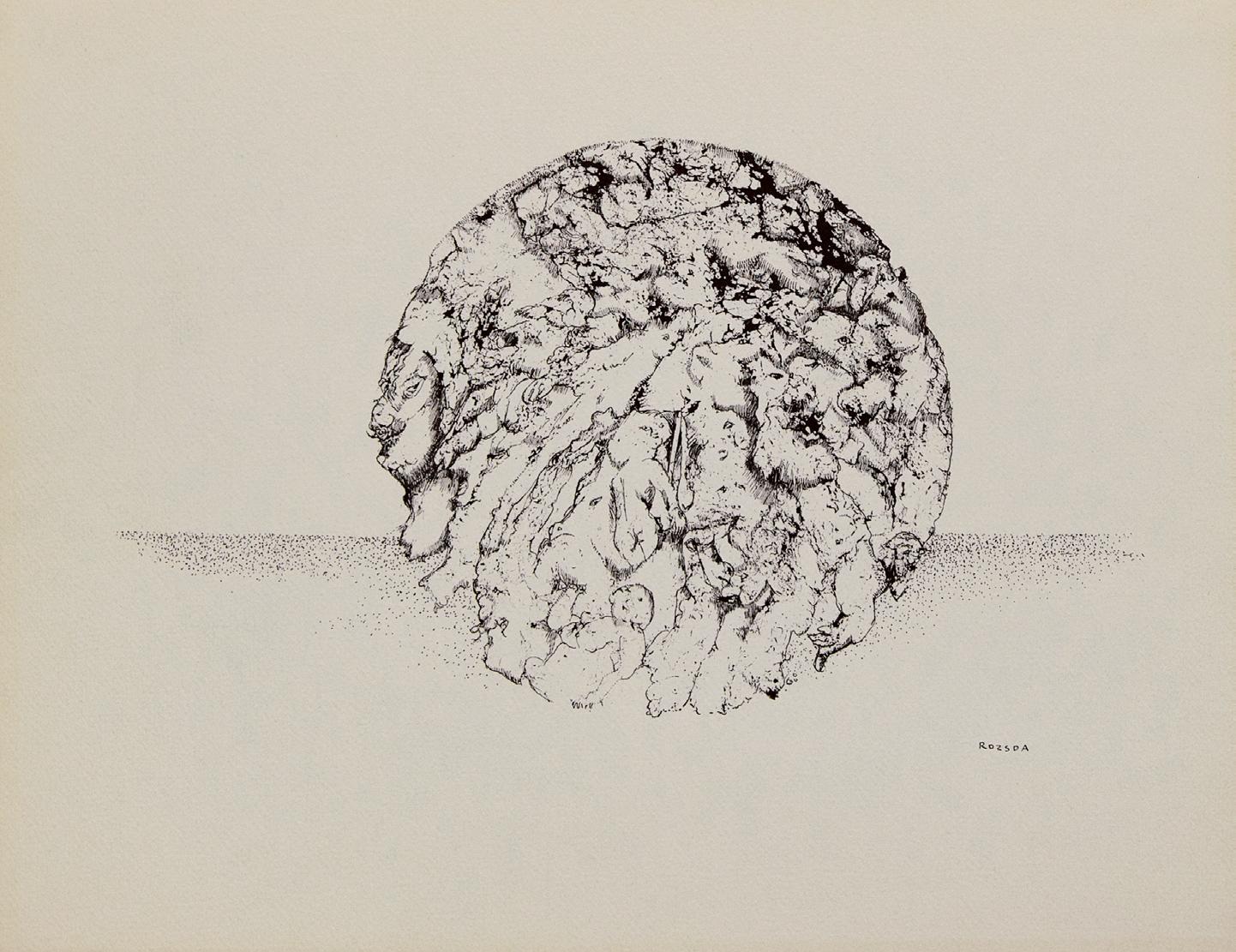 Endre Rozsda - La Lune (1960)