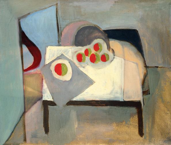 Endre Rozsda - Lit pour pommes - (1939).