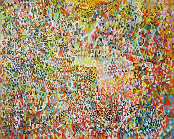Endre Rozsda - Fête maçonnique (1976).jp