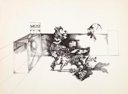 Endre Rozsda - Mon petit chien I. (c 1958)