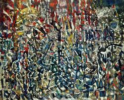 Endre Rozsda - La tour de Babel (1961)