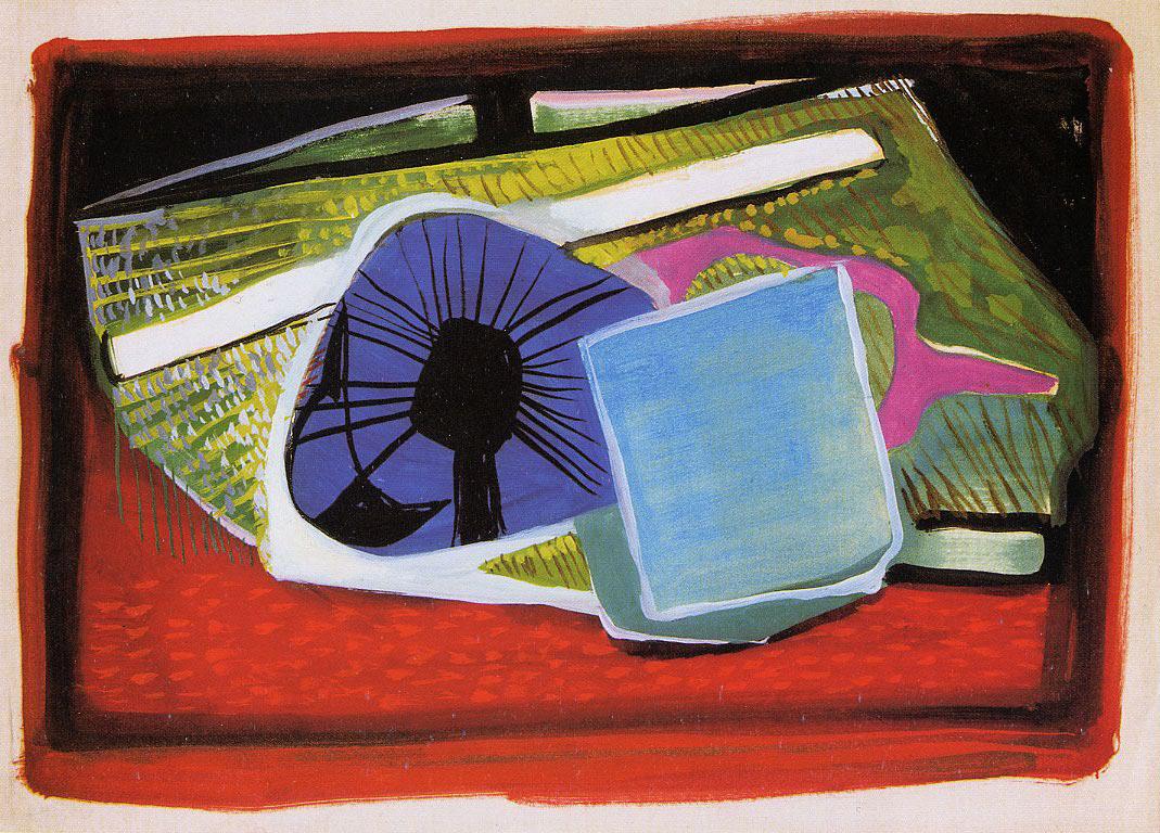 Endre Rozsda - Composition abstraite (cca 1942)