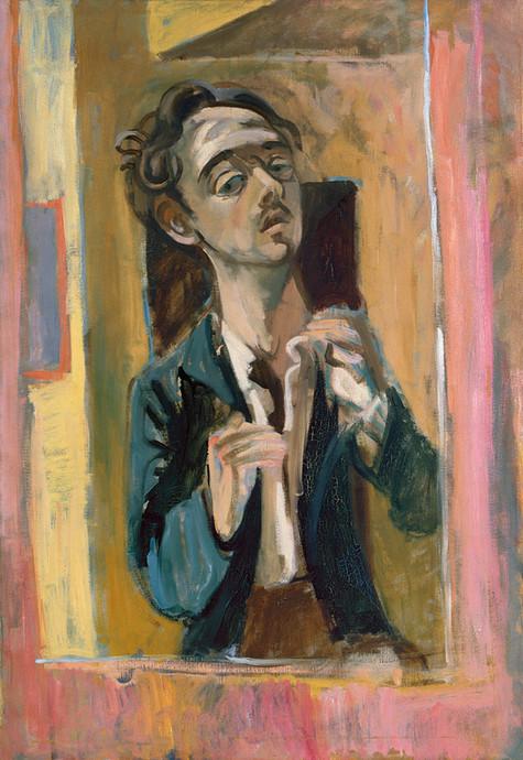Endre Rozsda - Autoportrait (1939) mng.j