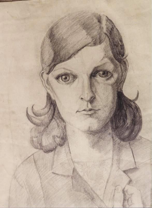 Endre Rozsda - Portrait d'une femme (1930)