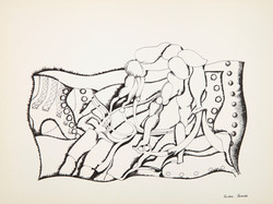 Endre Rozsda - Nature vive 3 (c 1960)