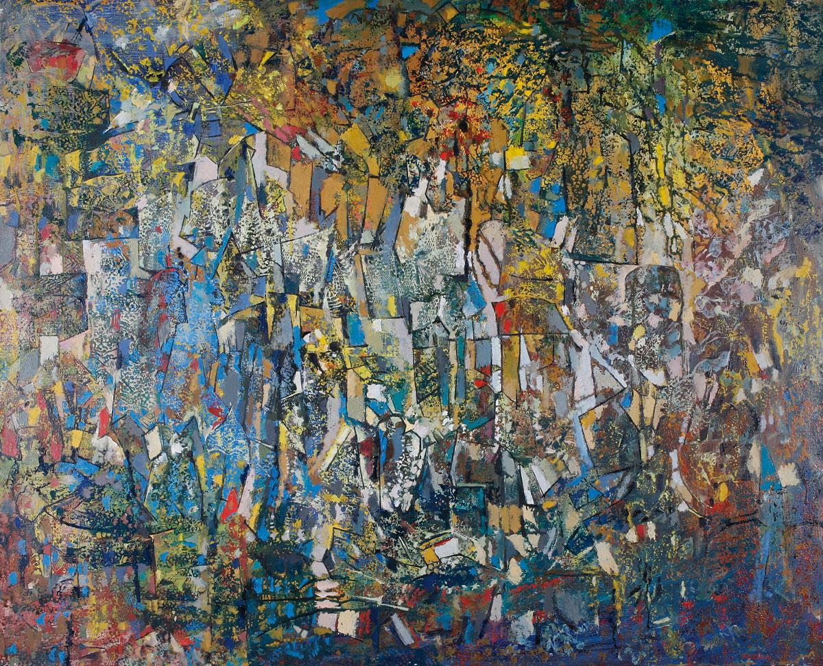 Endre Rozsda - Plein poids dans le rêve (1960)
