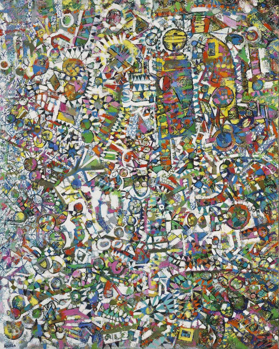 Endre Rozsda - Triste rire (1991)
