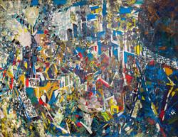 Endre Rozsda - Vue panoramique (1969)