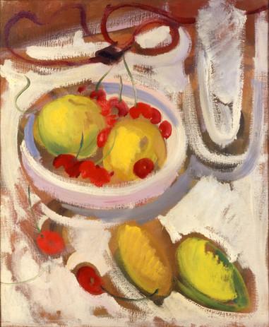 Endre Rozsda - Pommes et cerises (1936).
