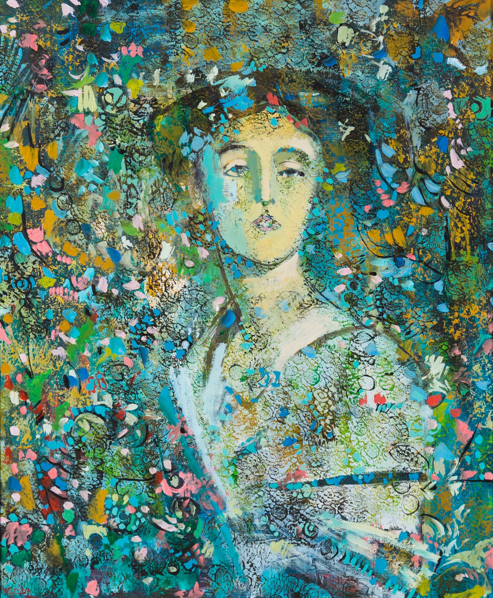 Endre Rozsda - Portrait de ma mère (1981)