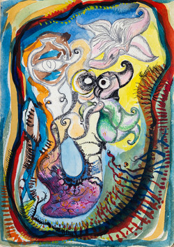 Endre Rozsda - Danse des lutins (1947)