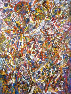 Endre Rozsda - Le Renouveau - La mort (1992)