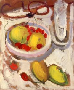 Endre Rozsda - Pommes et cerises (1936)