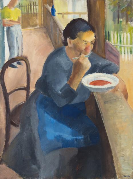 Endre Rozsda - Déjeuner dans la véranda