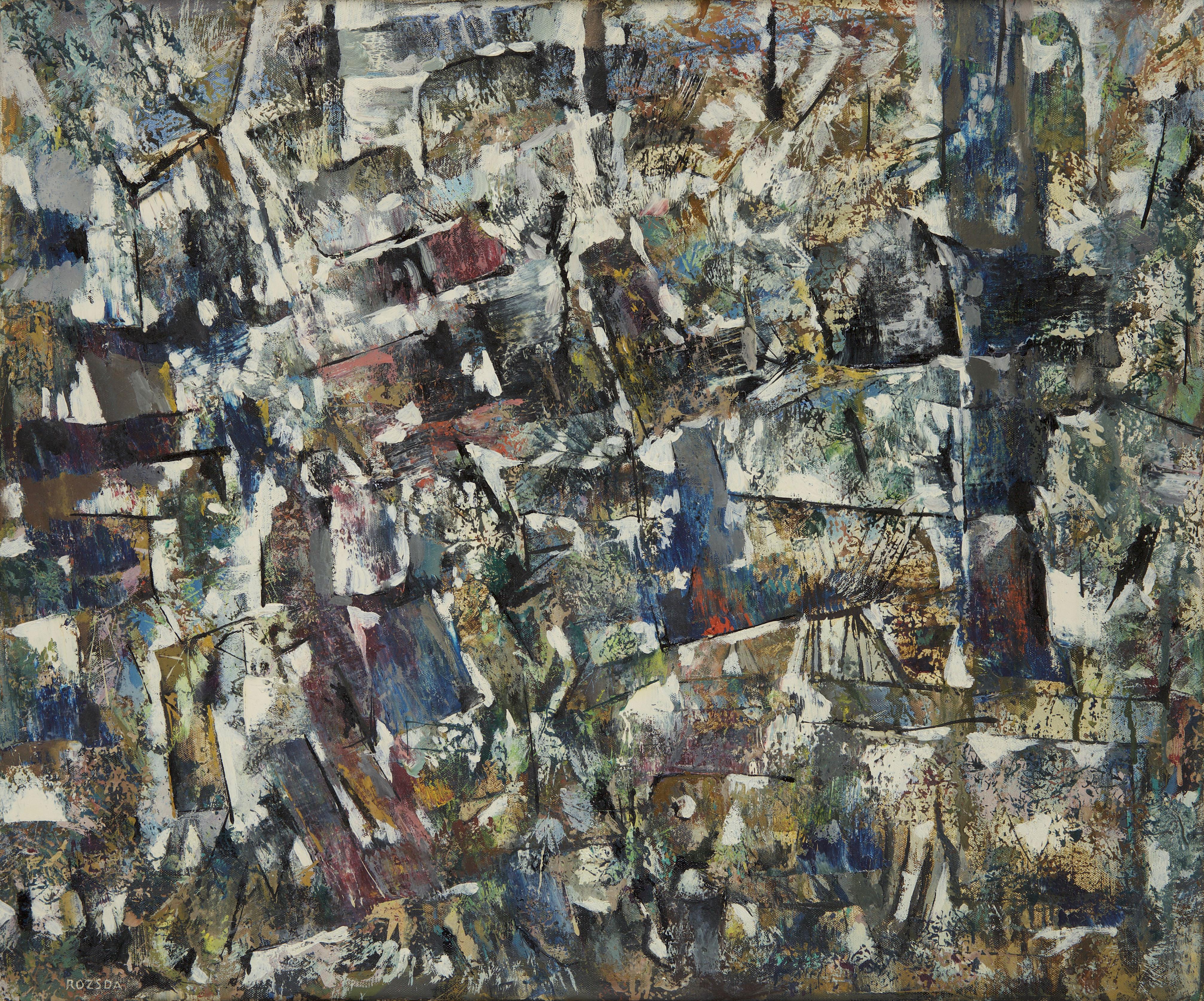 Endre Rozsda - Au-delà des dimensions (1970)