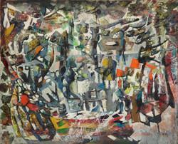 Endre Rozsda - Voyage de Mozart à Prague (1958)
