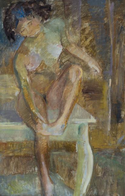 Endre Rozsda - Après le bain (1935).JPG