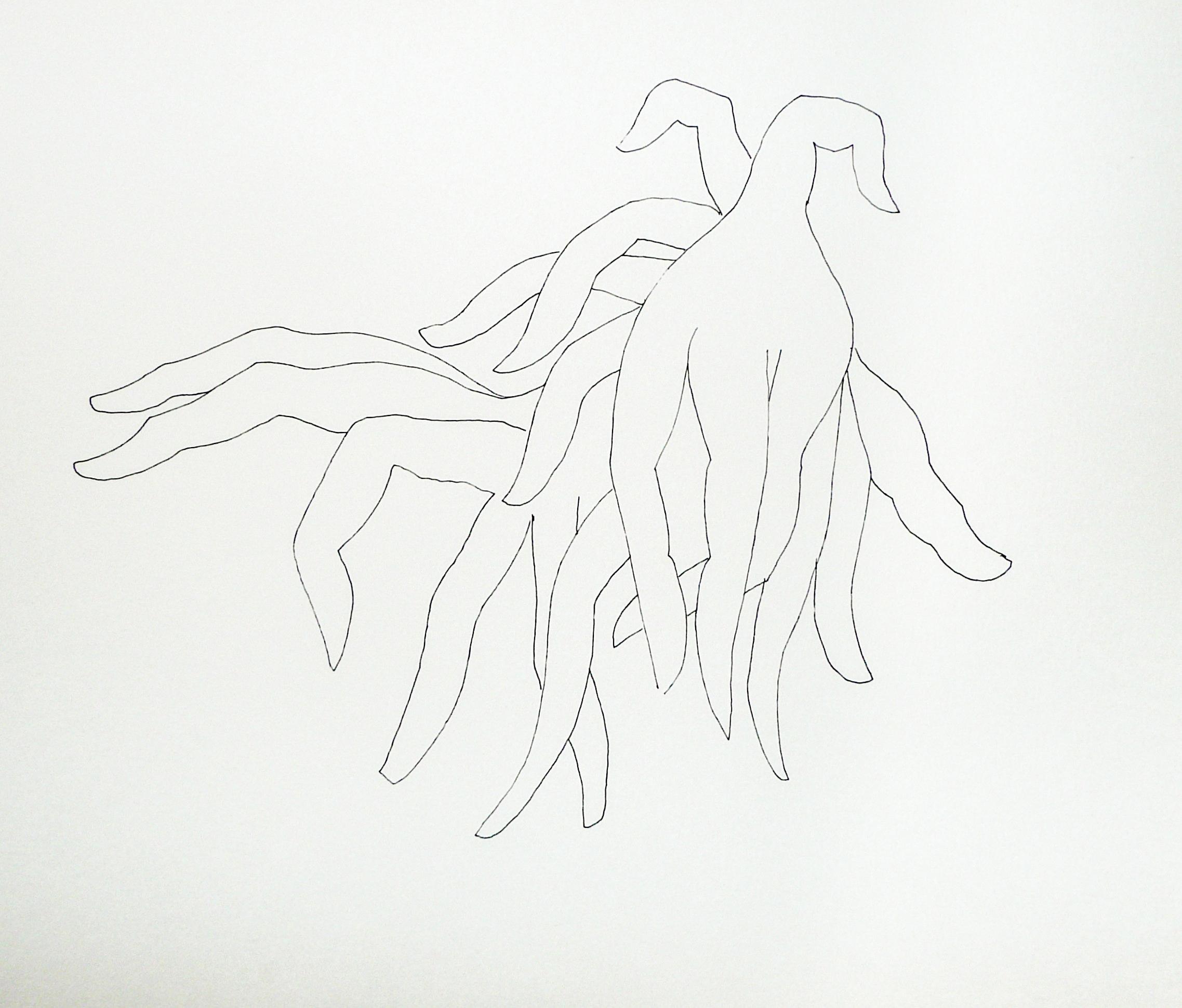 Endre Rozsda - Doigts (1988)