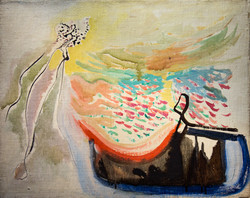 Endre Rozsda - Oneiric Composition (cca1941)