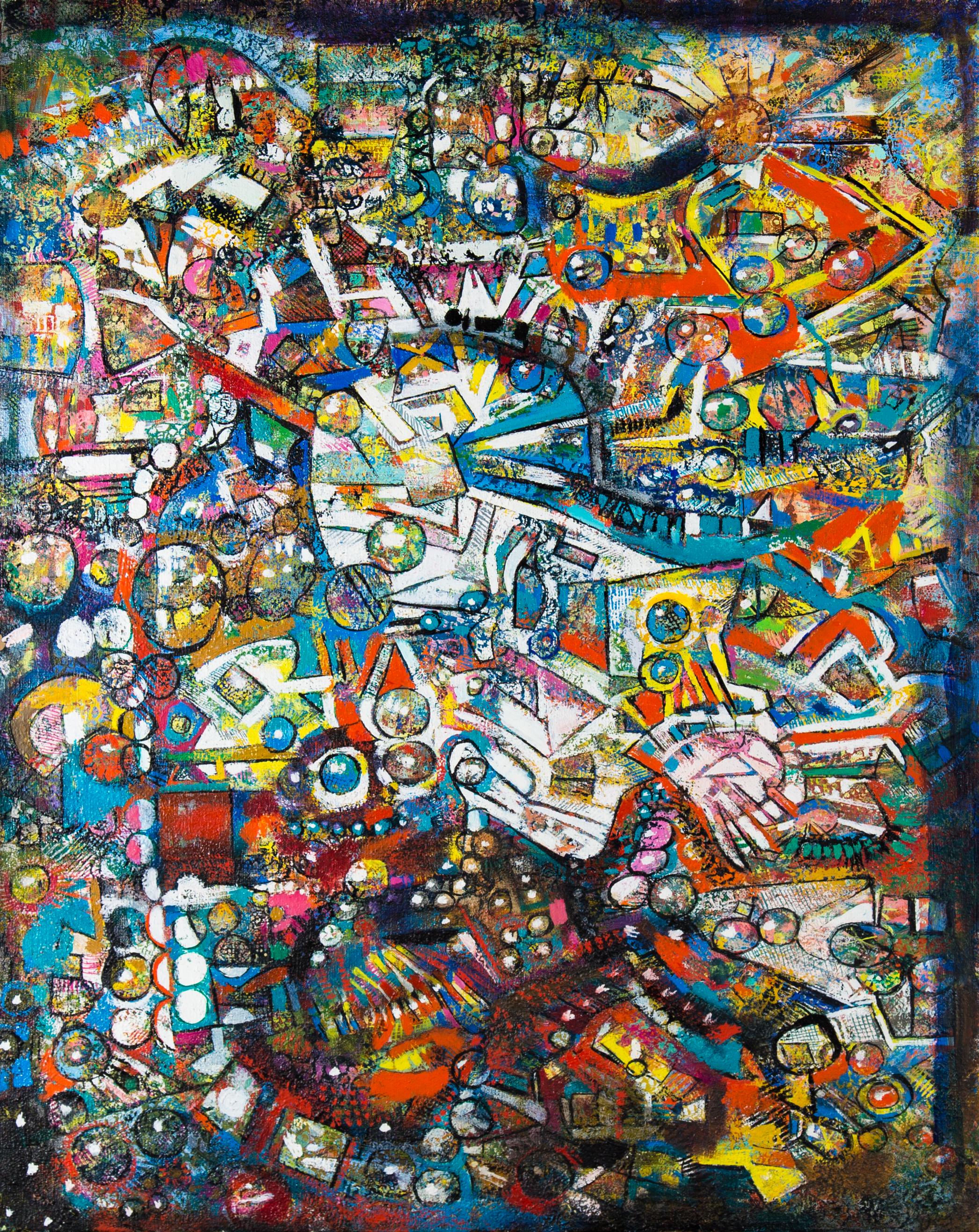 Endre Rozsda - Nouvelle écriture (1992-1997)