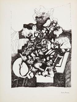 Endre Rozsda - Nature vive 4 (c 1960)