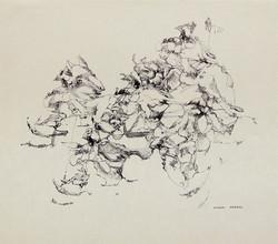 Endre Rozsda - Le Regard (1958)