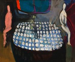 Endre Rozsda - Deux personnes seules (1939)