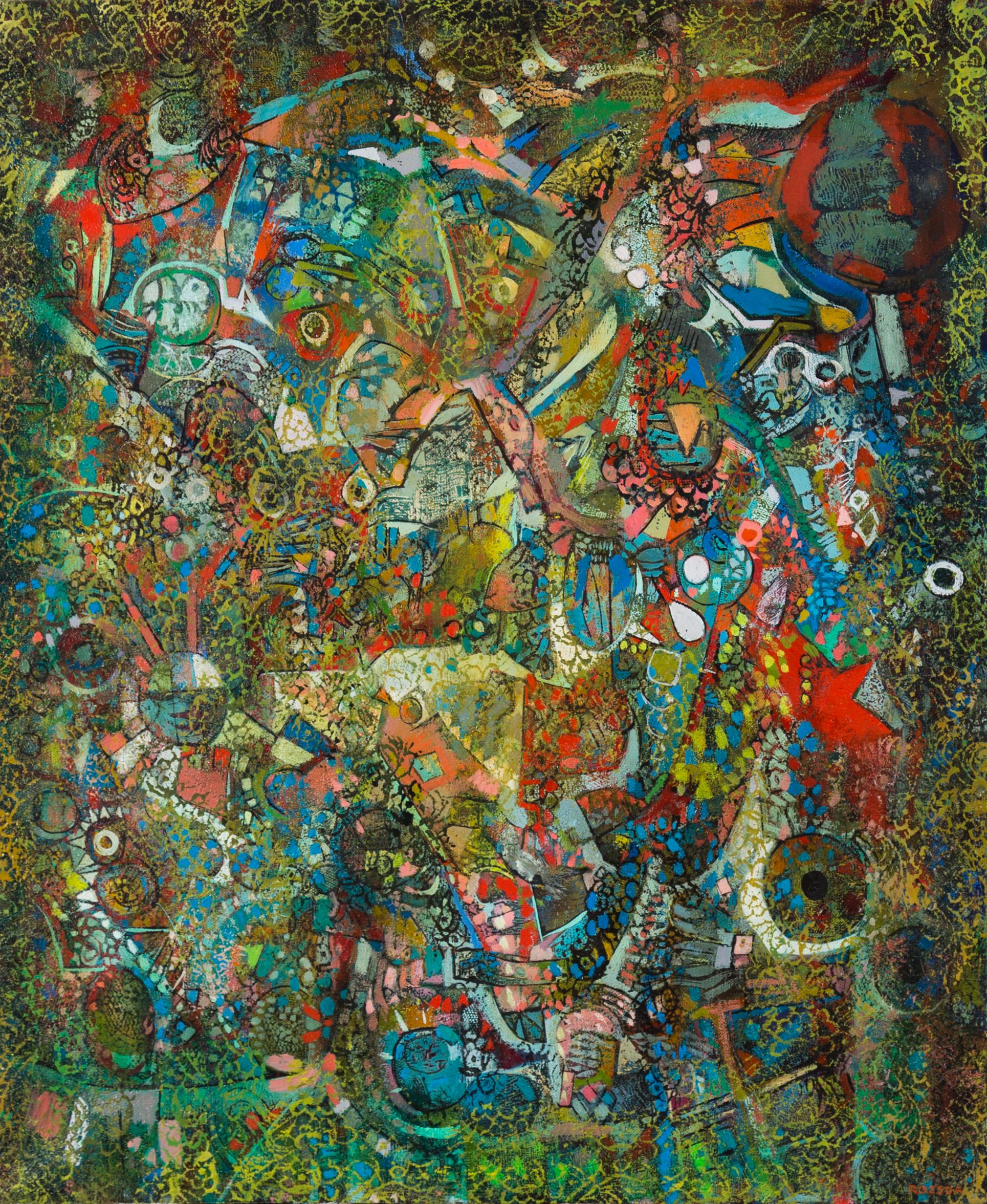 Endre Rozsda - Tissu oriental pour couvrir le crépuscule (1976-1981)