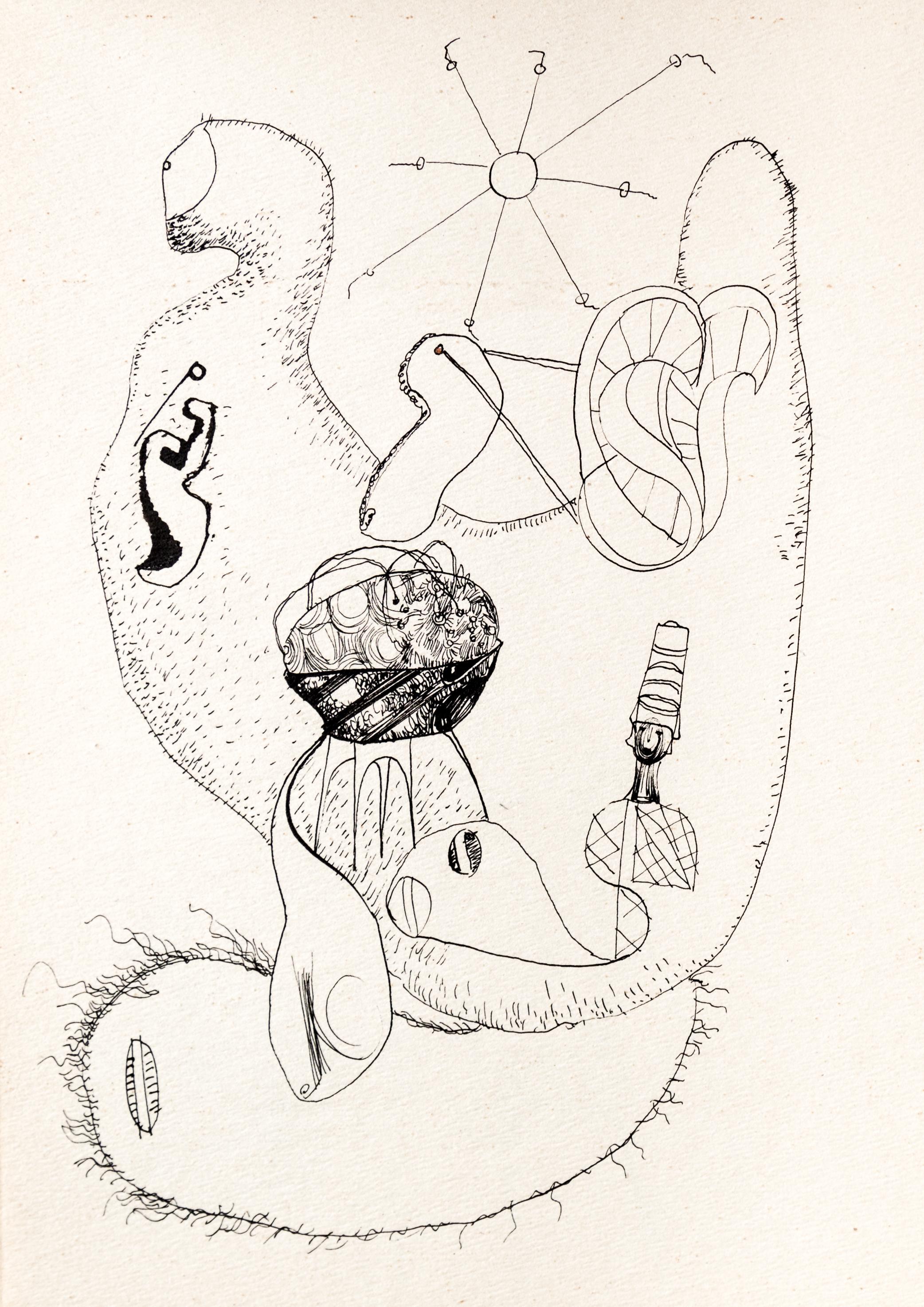 Endre Rozsda - Le monde microscopique (1939)