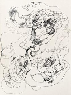 Endre Rozsda - L'arbre de la connaissance (1939)