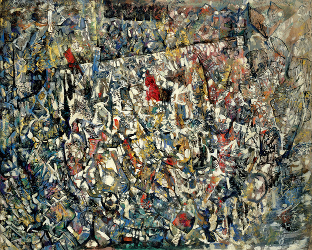 Endre Rozsda - Visage pâle (1958).jpg