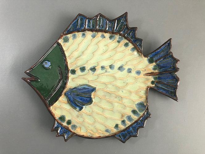 Green Fish Plate
